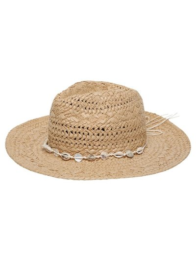 Shell trim fedora hat