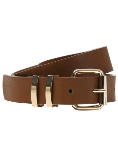 Double keeper belt