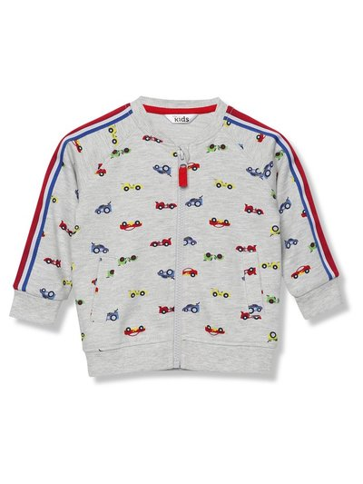 Car baseball sweatshirt (9 mths - 5 yrs)