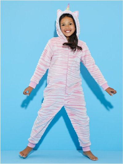 Fleece Unicorn Onesie (4-13yrs)
