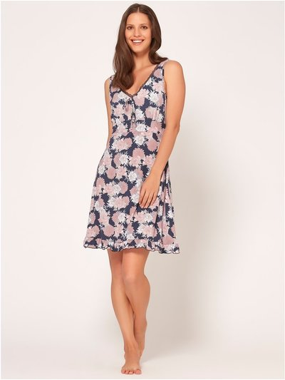 Floral sleeveless nightdress