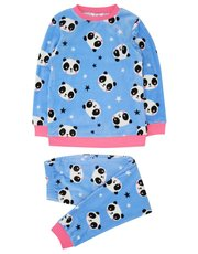 Panda fleece pyjamas (4 - 13 yrs)