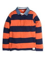 Striped rugby top (3-12-yrs)