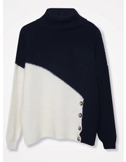 Khost Clothing Colour block jumper
