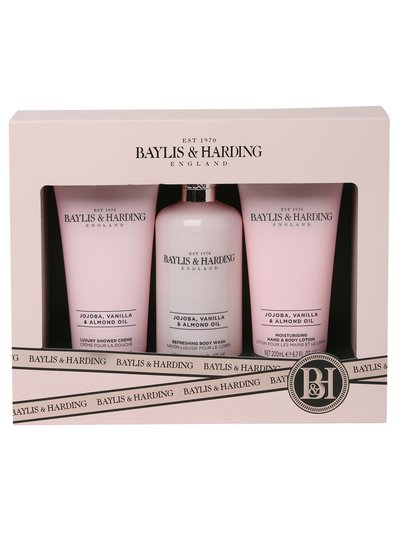 Baylis and Harding shower crème, body wash and lotion gift set