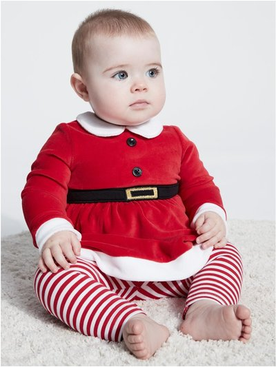Santa Claus top and leggings Christmas set (Newborn - 18 mths)