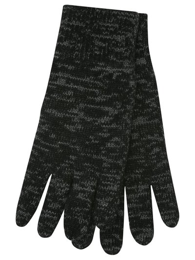 Marl knit insulated gloves