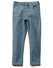 Diamante embellished jeans