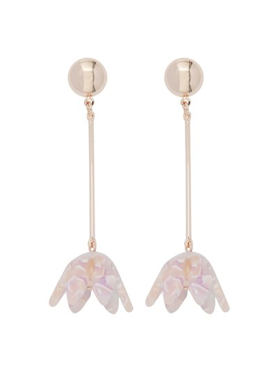 Muse flower drop earrings