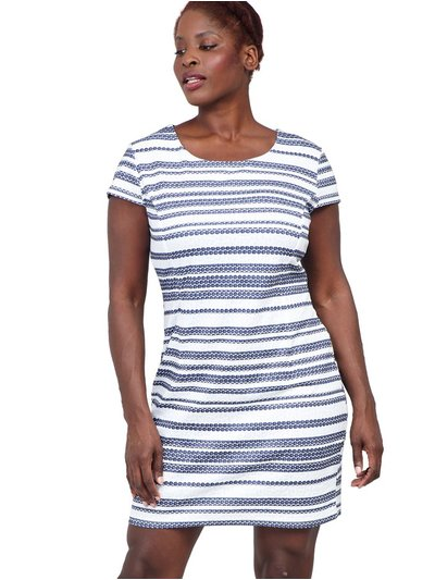 Izabel Curve striped shift dress