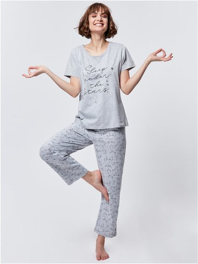 Star slogan pyjama set