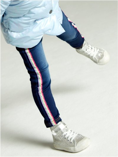Rainbow side stripe jeggings (9mths-5yrs)