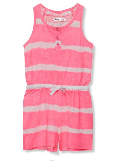 Tie dye playsuit (3 - 12 yrs)