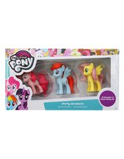 My Little Pony puzzle erasers three pack