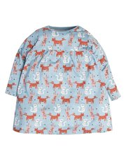 Cat print dress (9mths-5yrs)