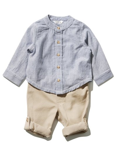 Grandad shirt and trousers set