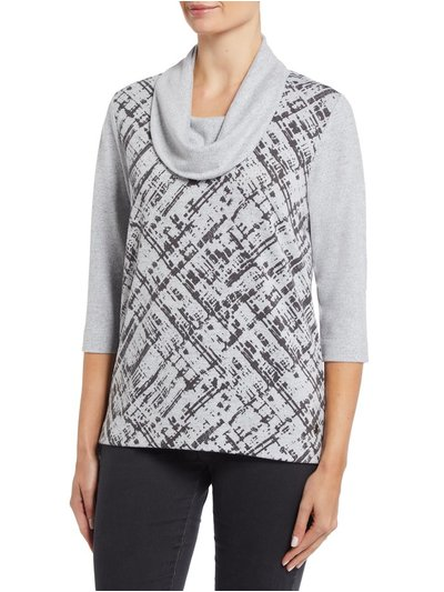 TIGI cowl neck top