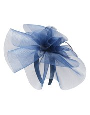 Feather detail fascinator