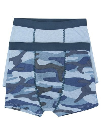 Camouflage boxer briefs two pack (3-10yrs)