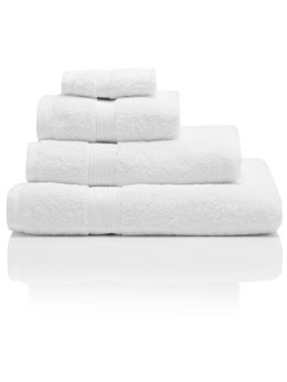 White Combed Cotton Towels