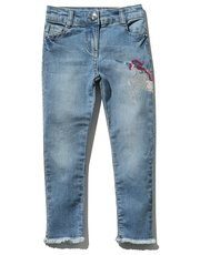 Sequin unicorn skinny jeans (3 - 12 yrs)