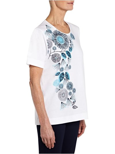 TIGI flower t-shirt