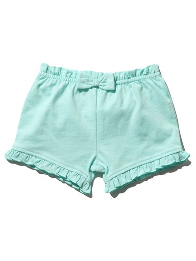 Frill jersey shorts (0mths-4yrs)