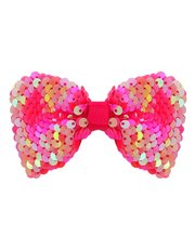 Two way sequin bow hairclip
