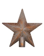 Bronze star tree topper