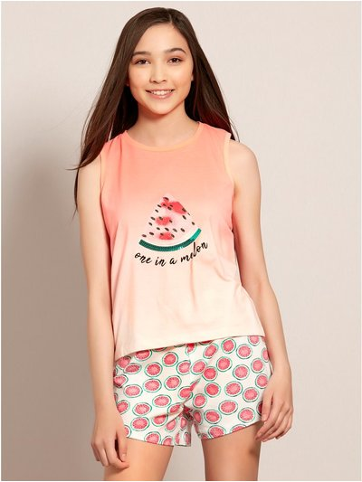Teens' one in a melon pyjamas