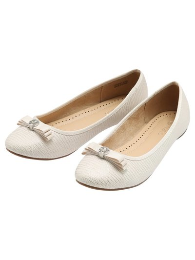 Frieda bow trim ballerina