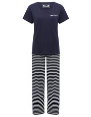 Sweet dreams striped pyjama set