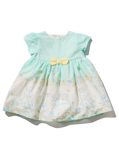 Floral bunny prom dress (0mths-4yrs)