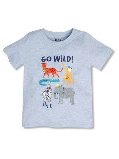 Go wild t-shirt (9mths-5yrs)