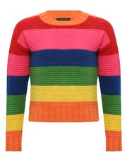 Teens' rainbow jumper