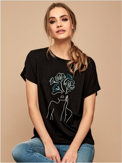 Sonder Studio embroidered T-shirt