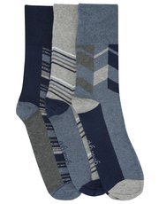 Gentle grip socks three pack