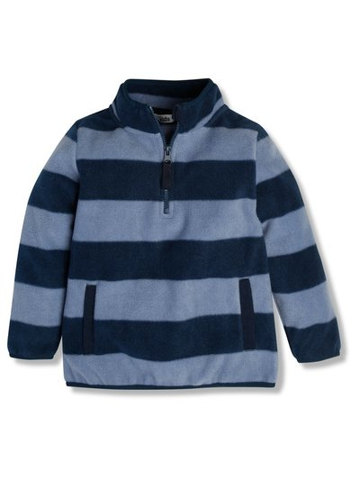 Zip neck fleece (9mths-6yrs)