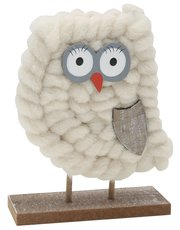 Standing owl ornamant