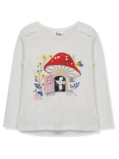Toadstool sequin t-shirt (9 mths - 5 yrs)