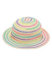 Neon ribbon sun hat