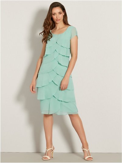 Chiffon shutter dress