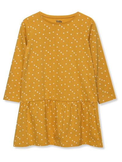 Long sleeve spot dress (9mths-5yrs)