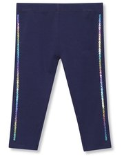 Rainbow sequin side stripe leggings (9mths-5yrs)