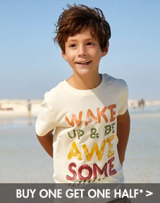 buy one get one half price boy's clothing