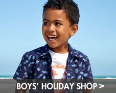 boys' holiday shop