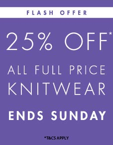 women's knitwear offer