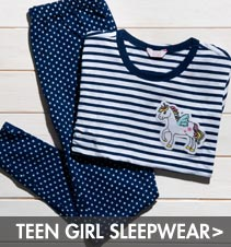 shop teen girl sleepwear