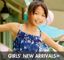 girls' new arrivals
