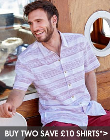 Buy 3 save £10 men's shirts